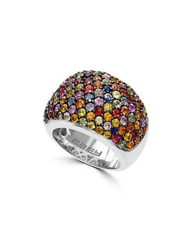 Effy Multi-Sapphire, Sterling Silver Ring-MULTI-7