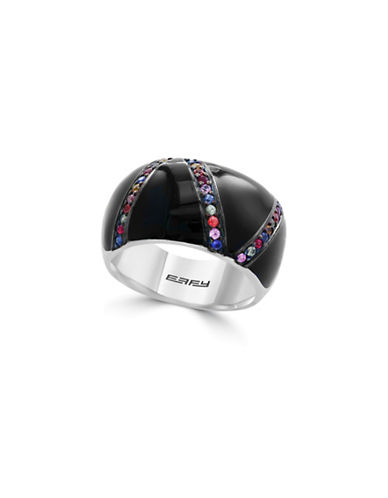 Effy Sterling Silver Multi Enamel Ring-MULTI-7