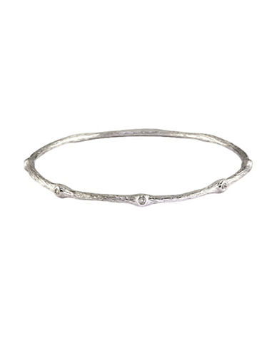Effy Diamond and Sterling Silver Bangle-WHITE-One Size