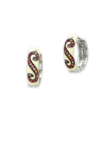 Effy Multi-Enamel Sterling Silver Earrings-MULTI-One Size