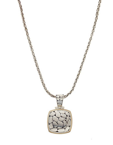 Effy Sterling Silver and 18K Gold Pendant-STERLING SILVER-One Size