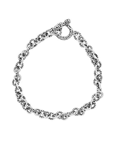 Effy Sterling Silver Tennis Bracelet-SILVER-One Size