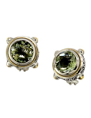 Effy Green Amethyst Earrings-GREEN AMETHYST-One Size
