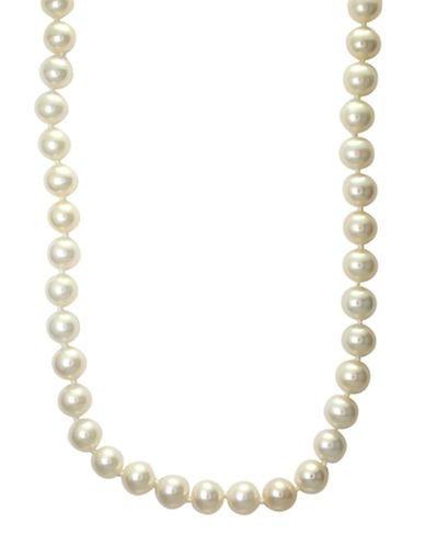 Effy 14K Yellow Gold Pearl Necklace-PEARL-One Size
