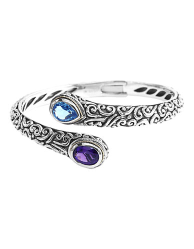 Effy Multi Gemstone Bangle-SILVER MULTI-One Size