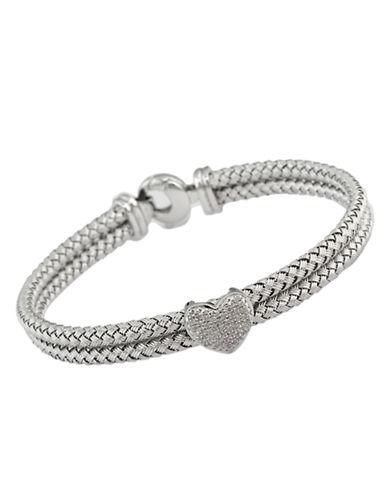 Effy Sterling Silver Diamond Bracelet-DIAMOND-One Size