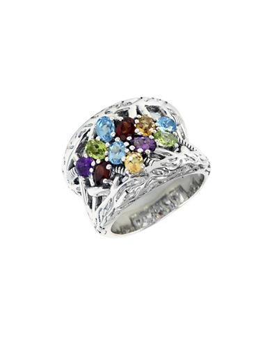 Effy Sterling Silver Multi Semi Precious Stone Ring-MULTI SEMI PRECIOUS STONE MIX-7