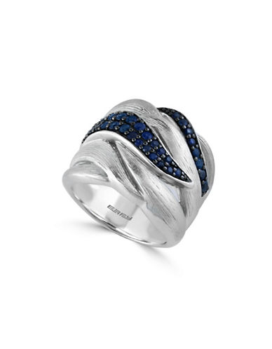 Effy Sapphire Sterling Silver Ring-BLUE-7