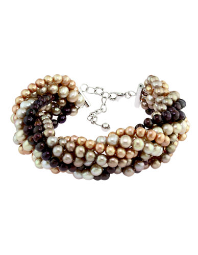 Effy Sterling Silver Dyed Freshwater Pearl Bracelet-PEARL-One Size