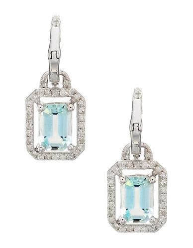 Effy 14 K White Gold Earring-DIAMOND-One Size