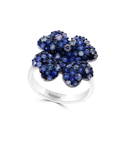 Effy Sapphire and Sterling Silver Ring-BLUE-7