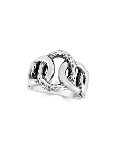 Effy 925 Sterling Silver Linked Rings-SILVER-7