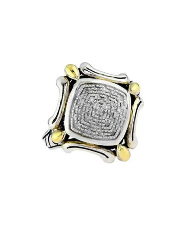 Effy 18k Yellow Gold and Silver Diamond Ring-DIAMOND-7