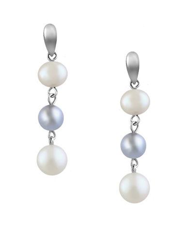 Effy Freshwater Pearl Drop Earrings-PEARL-One Size