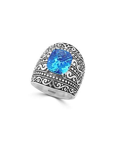Effy Topaz Sterling Silver Ring-BLUE TOPAZ-7