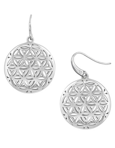 Effy 925 Sterling Silver Pendant Earrings-SILVER-One Size