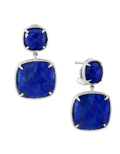 Effy Sterling Silver Lapis Lazuli Earrings-BLUE-One Size