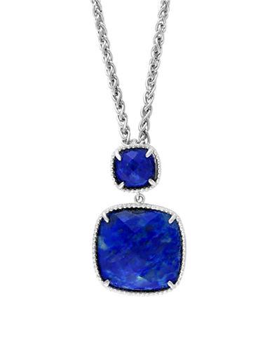 Effy Sterling Silver Lapis Lazuli Pendant Necklace-BLUE-One Size