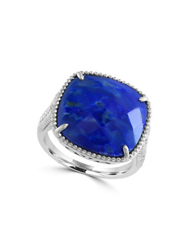 Effy Sterling Silver and Lapis Lazuli Ring-BLUE-7