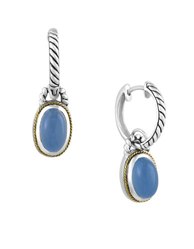 Effy Balissima Chalcedony Rope Drop Earrings-LIGHT BLUE-One Size