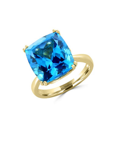 Effy 14K Yellow Gold Blue Topaz Ring-BLUE TOPAZ-7