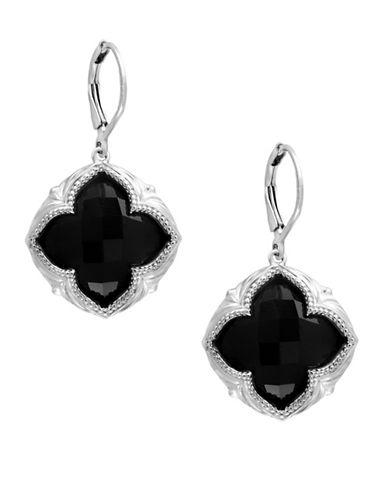 Effy 925 Sterling Silver Onyx Earrings-ONYX-One Size
