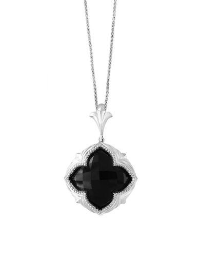 Effy 925 Sterling Silver Onyx Pendant Necklace-ONYX-One Size