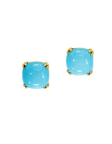 Effy 14K Yellow Gold Turquoise Earrings-TURQUOISE-One Size