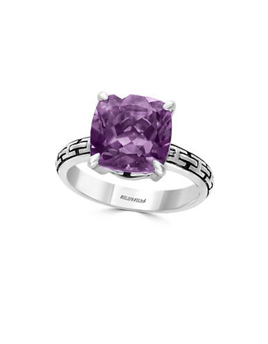 Effy Amethyst Sterling Silver Ring-PURPLE-7