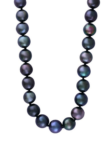 Effy 13-15MM Tahitian Pearl 14K White Gold Necklace-PEARL-One Size