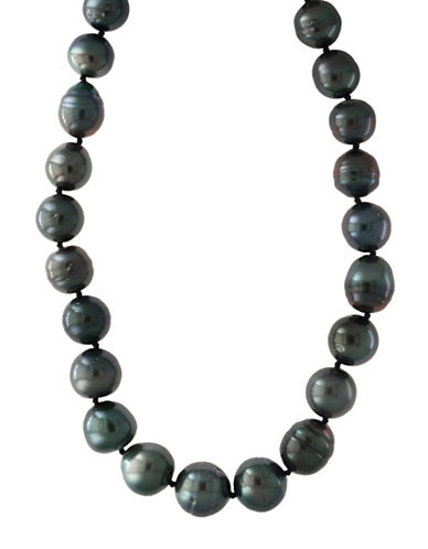Effy 14K White Gold Tahitian Necklace-PEARL-One Size