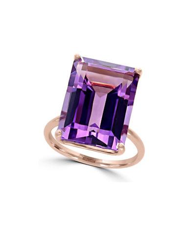 Effy 14K Rose Gold Amethyst Ring-AMETHYST-7
