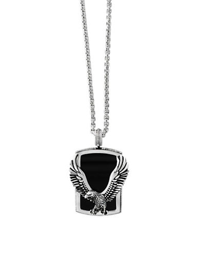 Effy Mens 925 Sterling Silver Onyx Pendant-ONYX-One Size