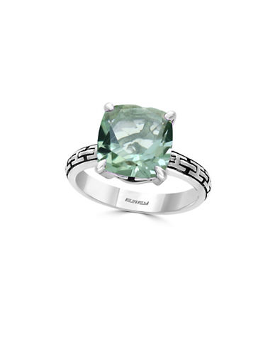 Effy Green Amethyst Sterling Silver Ring-GREEN-7