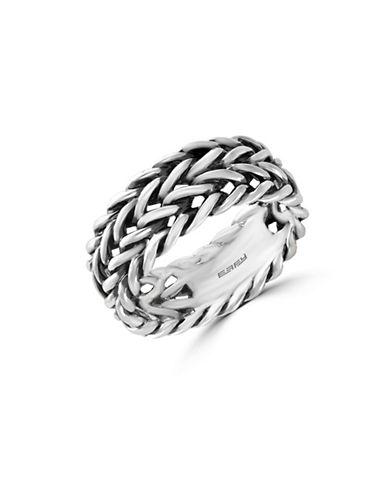 Effy Mens Sterling Silver Ring-SILVER-10
