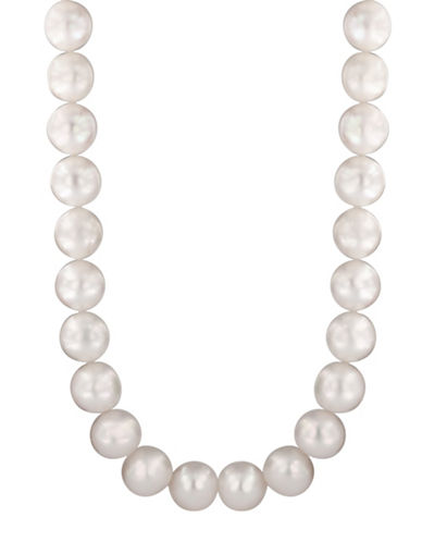 Effy Sterling Silver and 10mm Freshwater Pearl Strand Necklace-PEARL-One Size