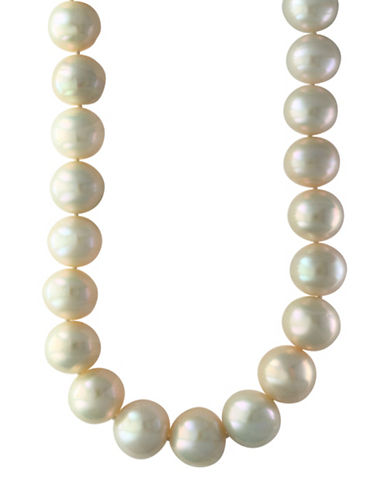 Effy Sterling Silver and 13mm Freshwater Pearl Strand Necklace-PEARL-One Size