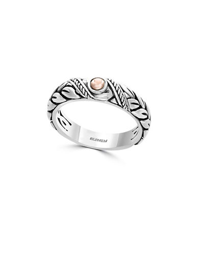 Effy 18K Rose Gold and 925 Sterling Silver Ring-ROSE GOLD-7