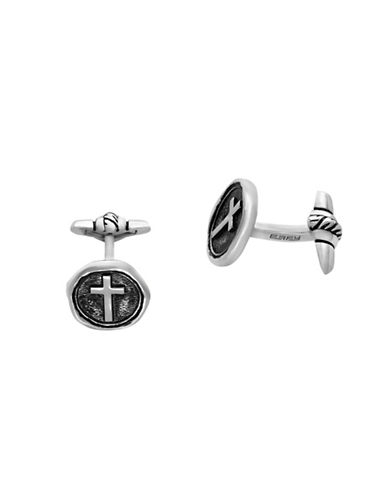 Effy Mens 925 Sterling Silver Cuff Links-SILVER-One Size