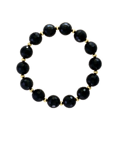 Effy 14K Yellow Gold and Onyx Bracelet-ONYX-One Size