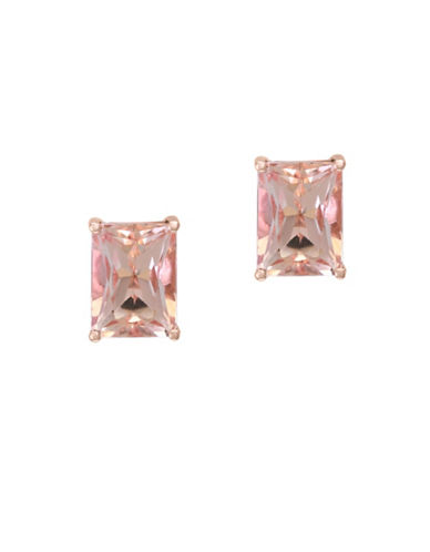 Effy Two-Tone Morganite Stud Earrings-MORGANITE-One Size