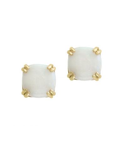 Effy 14K Yellow Gold Opal Earrings-WHITE-One Size