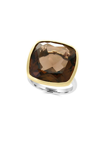 Effy Sterling Silver Smoky Quartz Ring-SMOKY-7