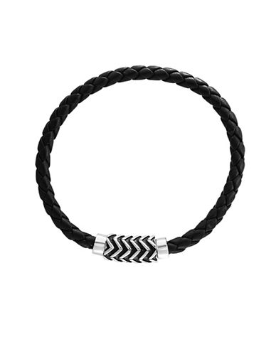 Effy Sterling Silver Braided Bracelet-GREY-One Size