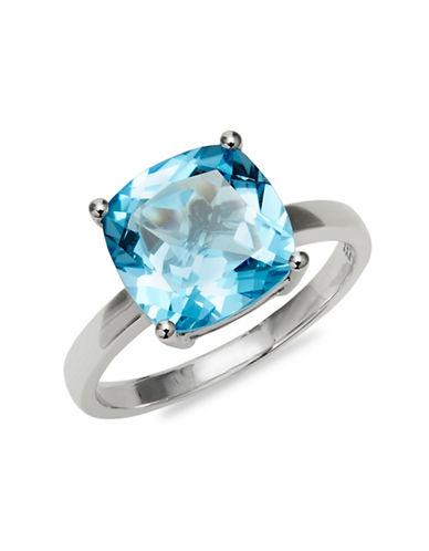 Effy 14K White Gold Blue Topaz Solitaire Ring-BLUE TOPAZ-7