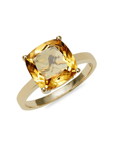 Effy 14K Yellow Gold Citrine Solitaire Ring-CITRINE-7