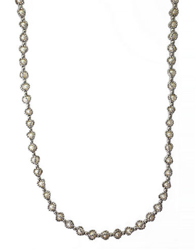 Effy Sterling Silver Fresh Water Necklace-PEARL-One Size