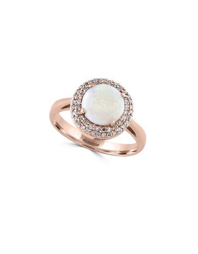 Effy 14K Rose Gold 1 Total Carat Weight Opal Diamond Ring-OPAL-7