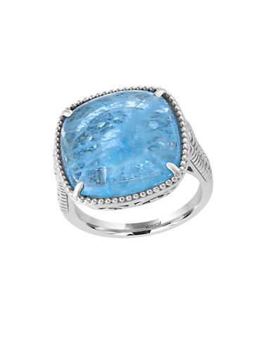 Effy Sterling Silver Milky Aquamarine Ring-AQUAMARINE-7