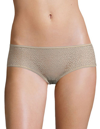 Dkny Modern Lace Hipsters-CHAMPAGNE-Medium